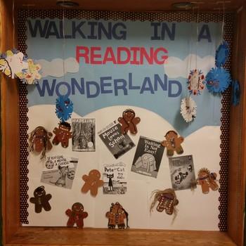 Winter Reading Bulletin Board