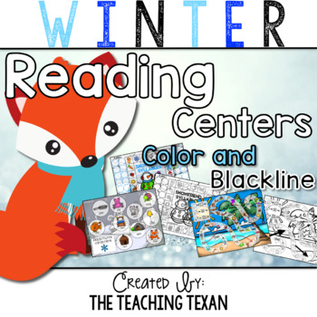 Winter Reading Center Games and Activities