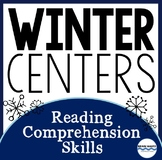 Winter Reading Centers - 5 Reading Comprehension Skill Sta