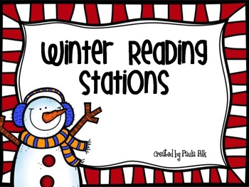 Winter Reading Centers/Stations
