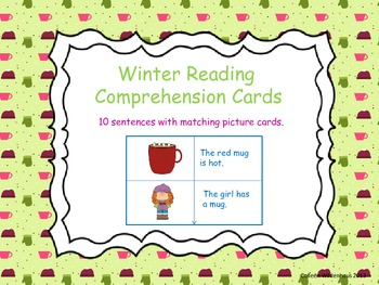 Winter Reading Comprehension Cards