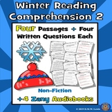 Winter Reading Comprehension: January Reading Comprehension: Winter Passages