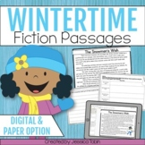 Winter Activities Reading Comprehension- Distance Learning Google Classroom