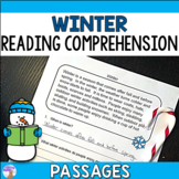 Winter Reading Comprehension Passages (Distance Learning)
