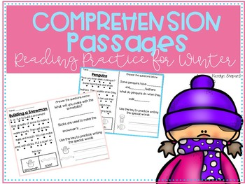 Winter Reading Comprehension Passages For Primary Grades