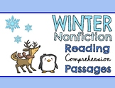 Winter Nonfiction Reading Comprehension Passage & Questions BUNDLE!