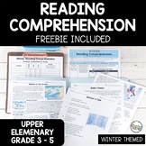 Reading Comprehension Questions and Passages