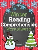 Winter Reading Comprehension Worksheets