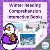 Winter Reading Comprehension adapted books (Level 1)