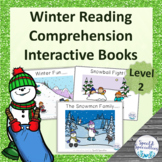 Winter Reading Comprehension adapted books (Level 2)