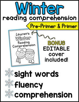 Winter Reading Comprehension for Kindergarten