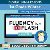 Winter Reading Fluency in a Flash 1st Grade • Digital Flue