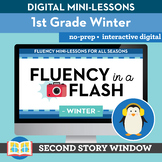 Winter Reading Fluency in a Flash 1st Grade • Digital Flue