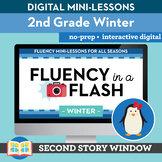 Winter Reading Fluency in a Flash 2nd Grade • Digital Flue