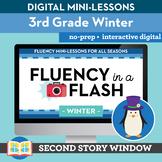Winter Reading Fluency in a Flash 3rd Grade • Digital Flue