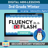Winter Reading Fluency in a Flash 3rd Grade • Digital Flue
