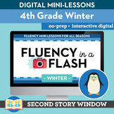 Winter Reading Fluency in a Flash 4th Grade • Digital Flue