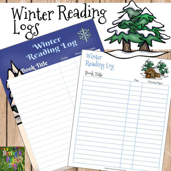 Winter Reading Logs Freebie
