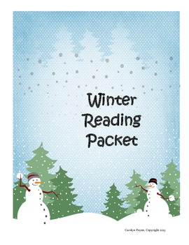 Winter Reading Packet