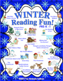 Winter Reading Comprehension passages and  Questions PRE-K  -  Grade 1