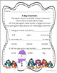 Reading comprehension Passages and questions with ELA math printables K - 1