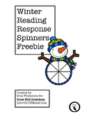 Winter Reading Response Freebie!