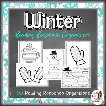 Winter Reading Response Templates
