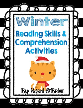 Winter Reading Skills & Comprehension Activities Freebie