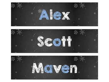 Winter Reading Strategy Personalized Bookmarks