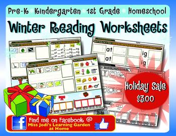 Winter Reading Worksheets