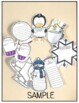 Winter Reading Wreath Craftivity {Use with any fiction or