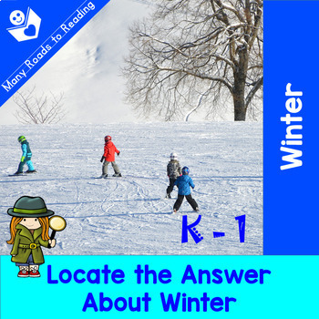 Winter Reading, Writing, Rhyming BUNDLE