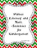 Winter Reading and Math Activities