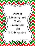 Winter Reading and Math Activities English/Spanish