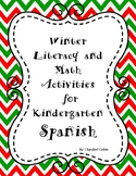 Winter Reading and Math Activities Spanish Version
