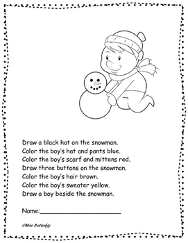 Winter Reading and Writing Activities