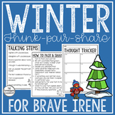 Winter Reading and Writing: Think-Pair-Share for Brave Irene