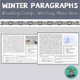 Winter Reading: comprehension, introduction, conclusion, main idea, speech