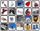 """""""Winter Reality"""" Picture Squares for Autism"""