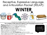 Winter- Receptive, Expressive Language, and Articulation Packet (RELAP)