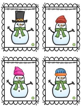 Winter Receptive Language Freebie