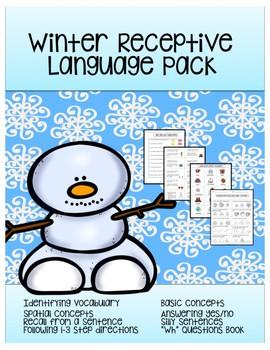 Winter Receptive Language Pack