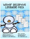 Winter Receptive Language Activities