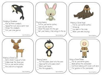 Winter Receptive Language: Speech Therapy