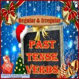 Winter - Regular and Irregular Past Tense Verb Activity