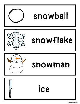 Winter Resource Bundle