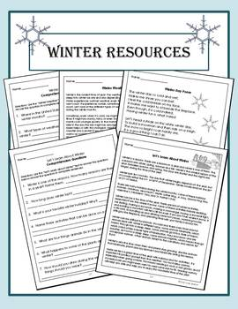 Winter Resource Packet