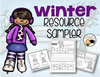 Winter Resources Freebie Free Downloads
