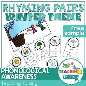 Winter Rhyme Game