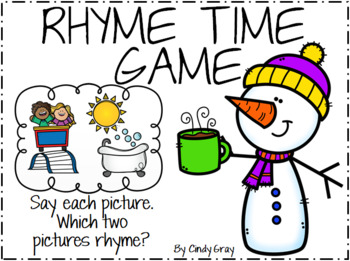 Winter Rhyme Time ~ Phonemic Awareness